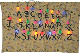 Rubie's 200145_NS Stranger Things Alphabet Tapestry Party Supplies, 68 x 46, Multicolor