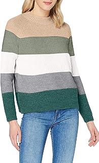 Only Onljade L/S Stripe Pullover Ex Knt Maglione Donna