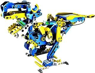 The Source Wholesale 71510 - 12 w 1 Robot dinozaurów zasilany energią słoneczną