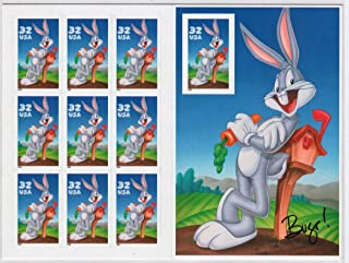 USPS Bugs Bunny Sheet of Ten 32 Cent Stamps Scott 3137