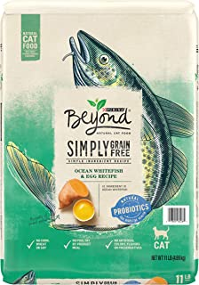 Purina Beyond Grain Free, Natural, Ocean Whitefish & Egg Adult Dry Cat Food