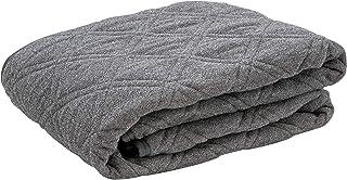 フランスベッド ベッドパッド シングルサイズ グレー 簡単 時短 らくピタパイルパッドEC 360071170