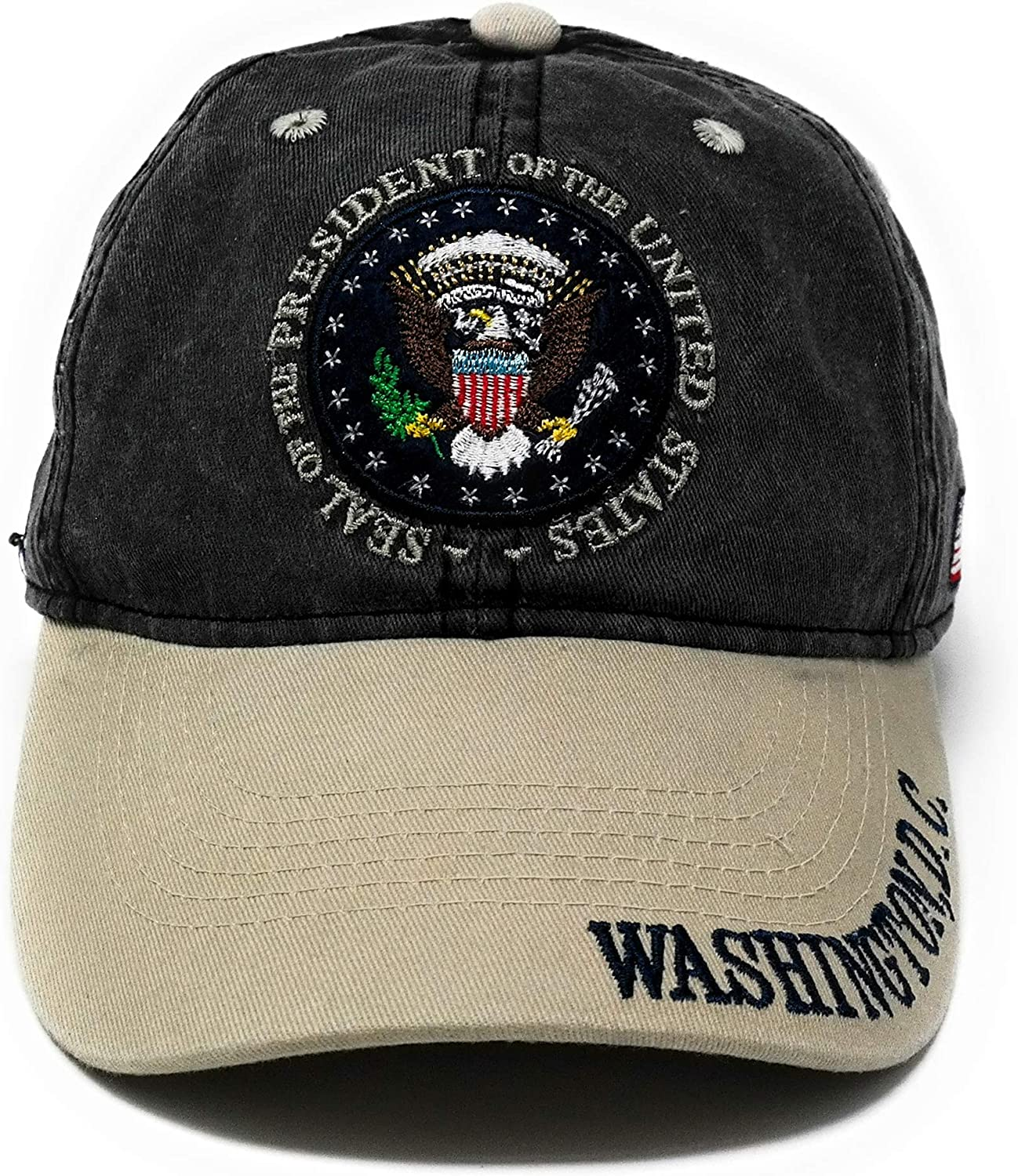 Black Presidential Seal Hat Washington DC Hat Baseball Cap