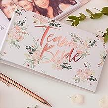 Ginger Ray Gold Foiled Team Bride Hen Party Photo Album - 50 Photos - Floral Hen