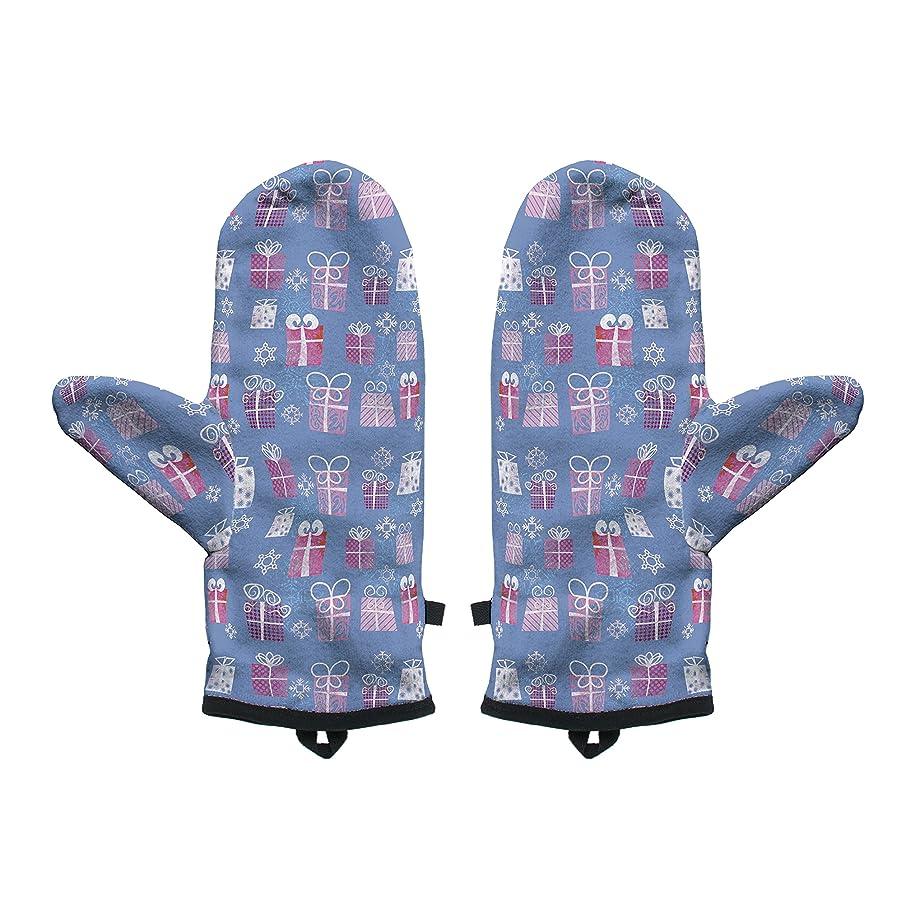 Fringoo Baby Boys' Winter Mitten Warm Gloves Cosy Windproof Christmas Pug Cat Small / Medium Christmas Gifts
