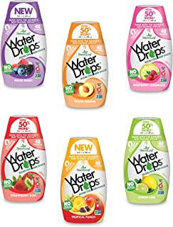 Sweetleaf Stevia Natural Water Drops, 6 Unit Variety Pack (1.62 Ounce Each)