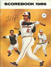 Baltimore Orioles Scorebook 1986 (Floyd Rayford Cover)