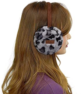 C.C Exclusives Tartan Check Earmuff with Faux Fur(EM-2339)