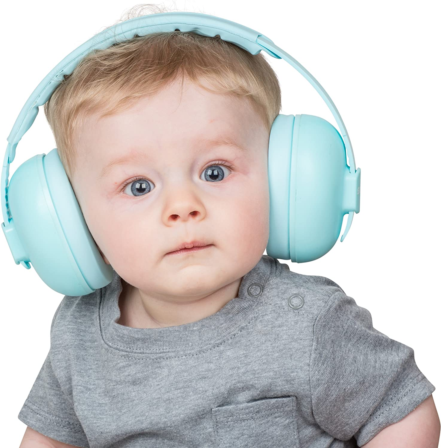 Snug Baby Earmuffs, Best Toddler & Infant Hearing Protection Ages 0-2+ Ear Protection for Babies