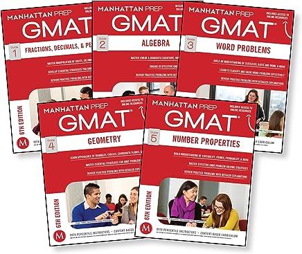 GMAT Quantitative Strategy Guide Set, 6th Edition