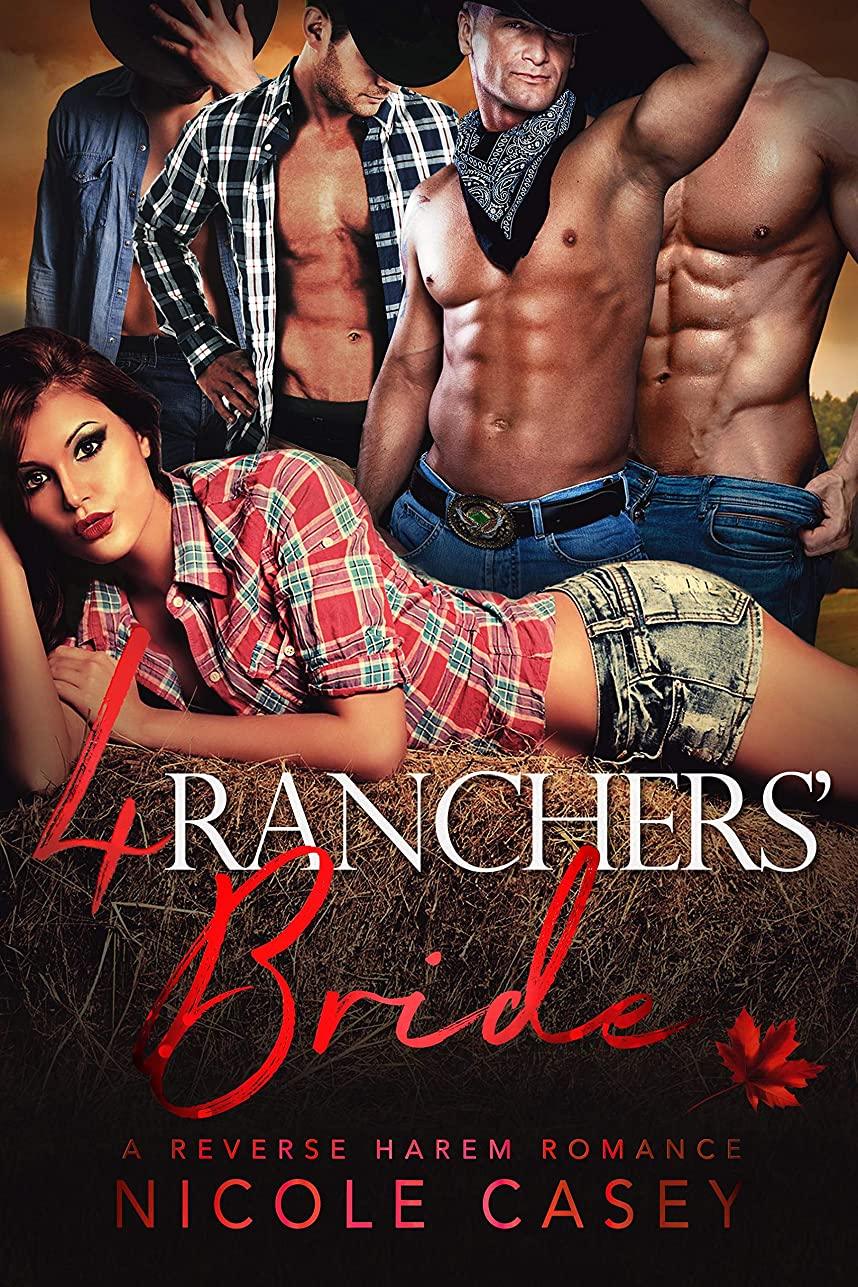 植物学ロック解除幸運Four Ranchers' Bride: A Reverse Harem Romance (Love by Numbers Book 3) (English Edition)