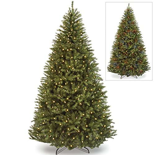 Pre Lit Artificial Christmas Trees Amazon Com