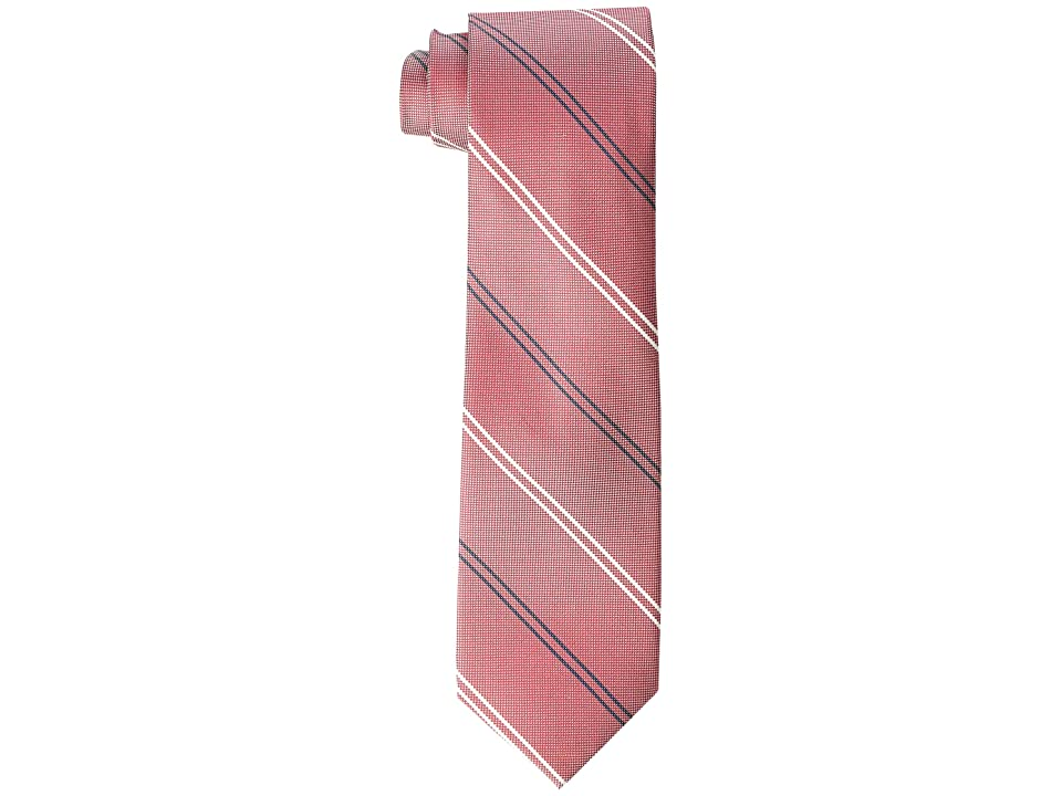 Tommy Hilfiger Uptown Stripe (Red) Ties