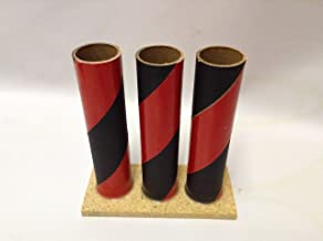 Vintage Fireworks Tube Triple Set