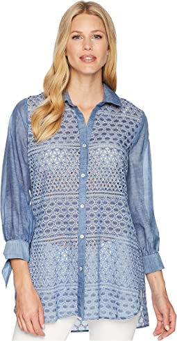 Mosaic Lace Top