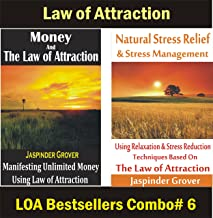 Law of Attraction Magic: Money and Law of Attraction and Natural Stress Relief Using law of Attraction: Combo of 2 Bestsellers - Secrets to Attract Money ... (Law of Attraction Combos Book 6)