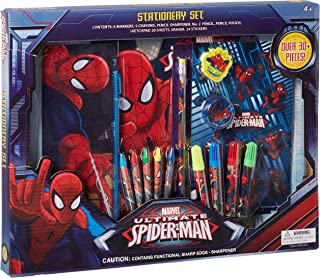 UPD Marvel The Amazing Spider-Man 30Piece Stationery Set - School Supplies