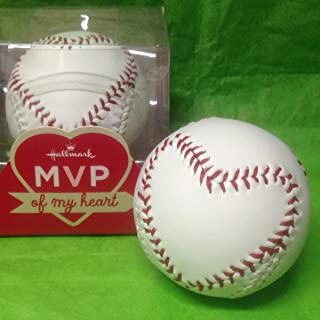 Hallmark Valentine's VTD5013 MVP of my Heart Baseball
