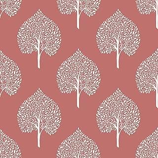 Best coral floral wallpaper Reviews