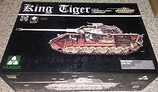 Takom 1/35 King Tiger Sd.Kfz.182 PORSCHE TURRET w/ZIMMERIT No. 2046