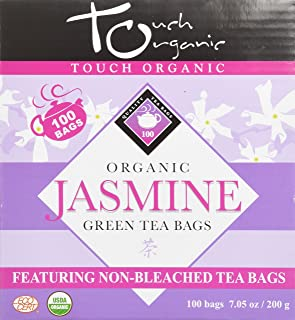 Touch Organic China Organic Tea Cube, Jasmine Green Tea