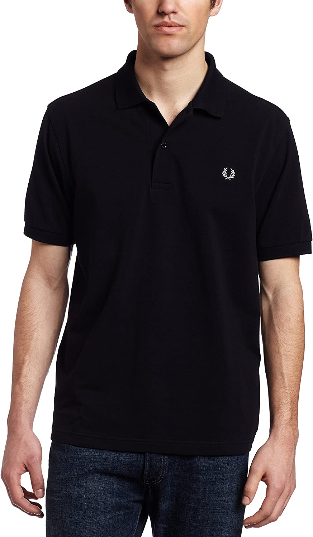 Fred Perry Men's Plain Polo Shirt