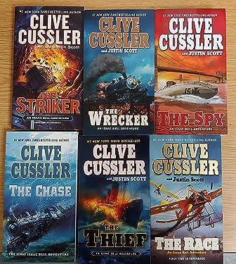 Clive Cussler Isaac Bell Series Set