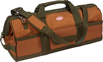 Bucket Boss Gatemouth 24 Tool Bag in Brown, 60024