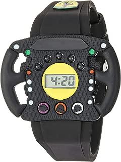Scuderia Ferrari Quartz Watch with Silicone Strap, Black, 24 (Model: 0810013)