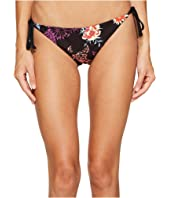 Splendid - Electric Bloom Reversible Tie Side Bikini Bottom