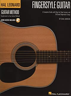 Fingerstyle Guitar Method: A Complete Guide with Step-by-Step Lessons and 36 Great Fingerstyle Songs (Hal Leonard Guitar M...