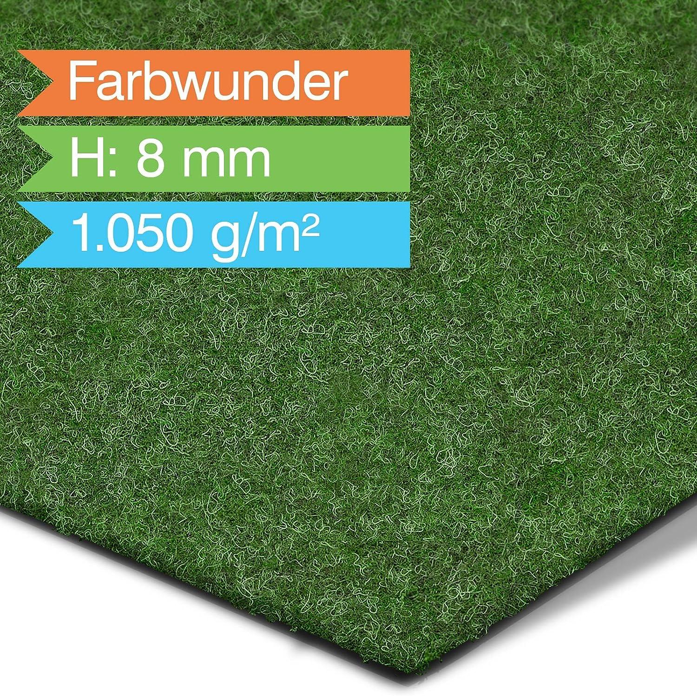 Rasenteppich / Kunstrasen Farbwunder Royal   grün   Amazon