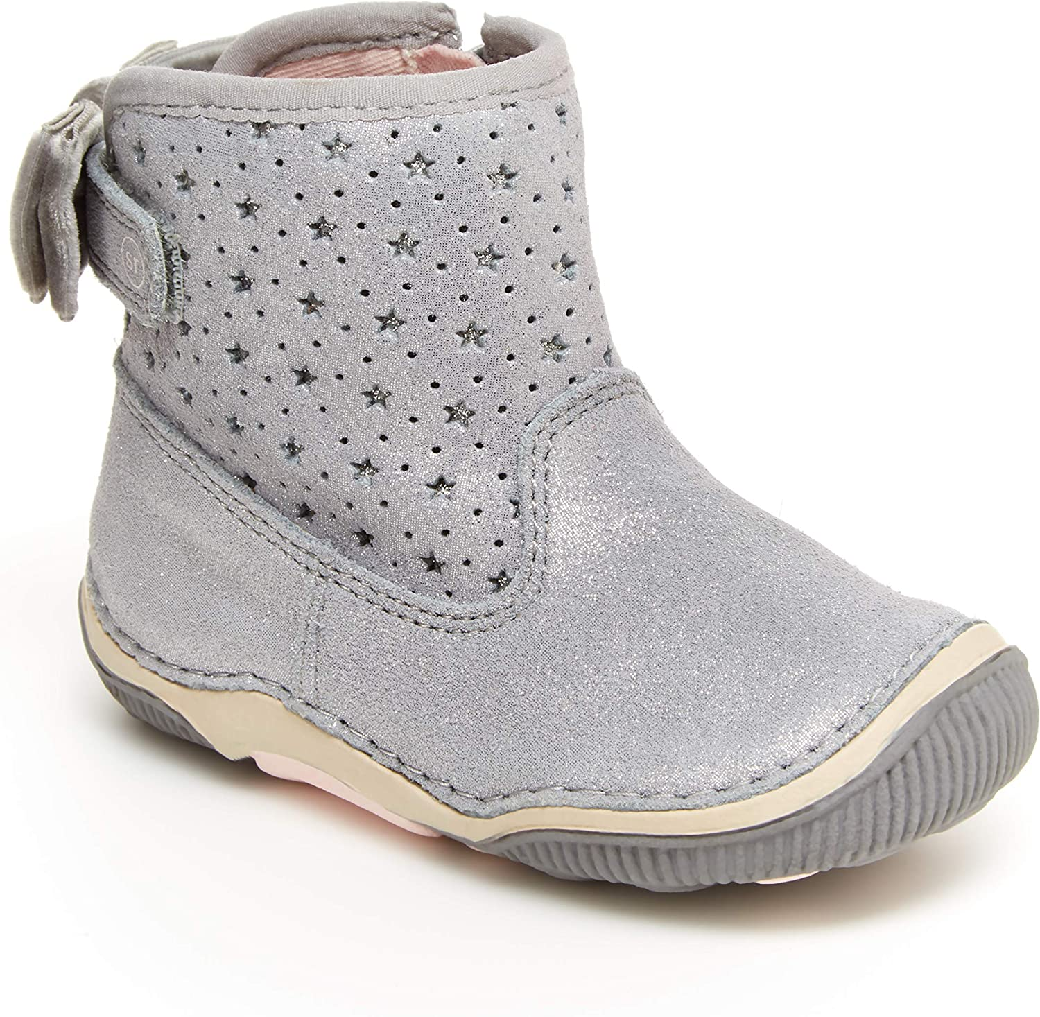 Stride Rite Unisex-Child SRT excellence Angie Shoe Bootie Fees free Walker First