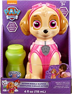 Little Kids Paw Patrol Skye Action Bubble Blower and Includes Bubble Solution