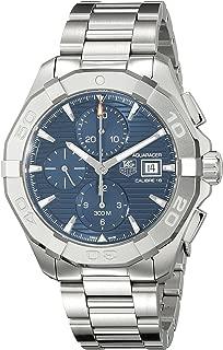 Men's CAY2112.BA0925 Analog Display Swiss Automatic Silver Watch