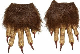 Men's Werewolf Latex Claw Hands Costume Accessory