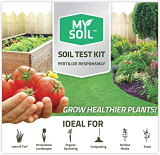 MySoil-Soil Test Kit | Grow The Best Lawn and Garden | Know Exactly What Your Soil and Plants Need | Provides Complete Nut...