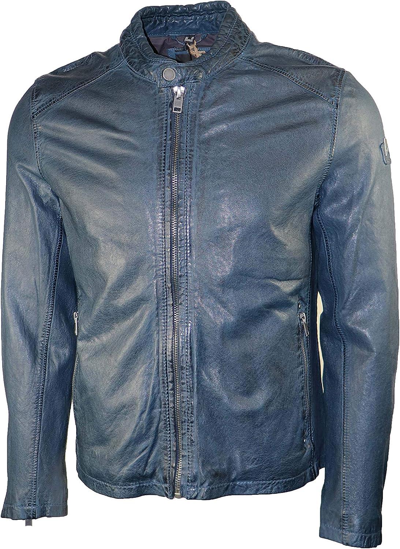 Mauritius Men's Moto Leather Jacket