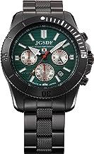 [ケンテックス] 腕時計 JSDF PRO 陸上自衛隊プロフェッショナルモデル クロノグラフ S690M-01 ブラック