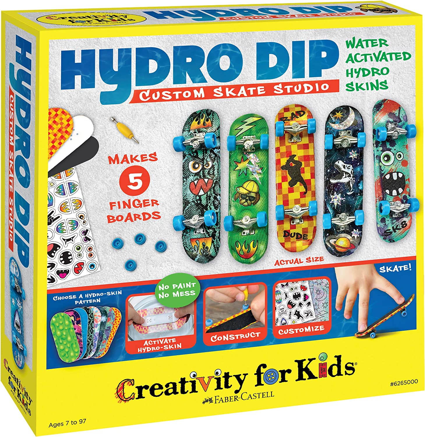 Creativity for Kids Hydro-Dip Custom Mini Studio Outlet sale OFFicial mail order feature – Fi Skate