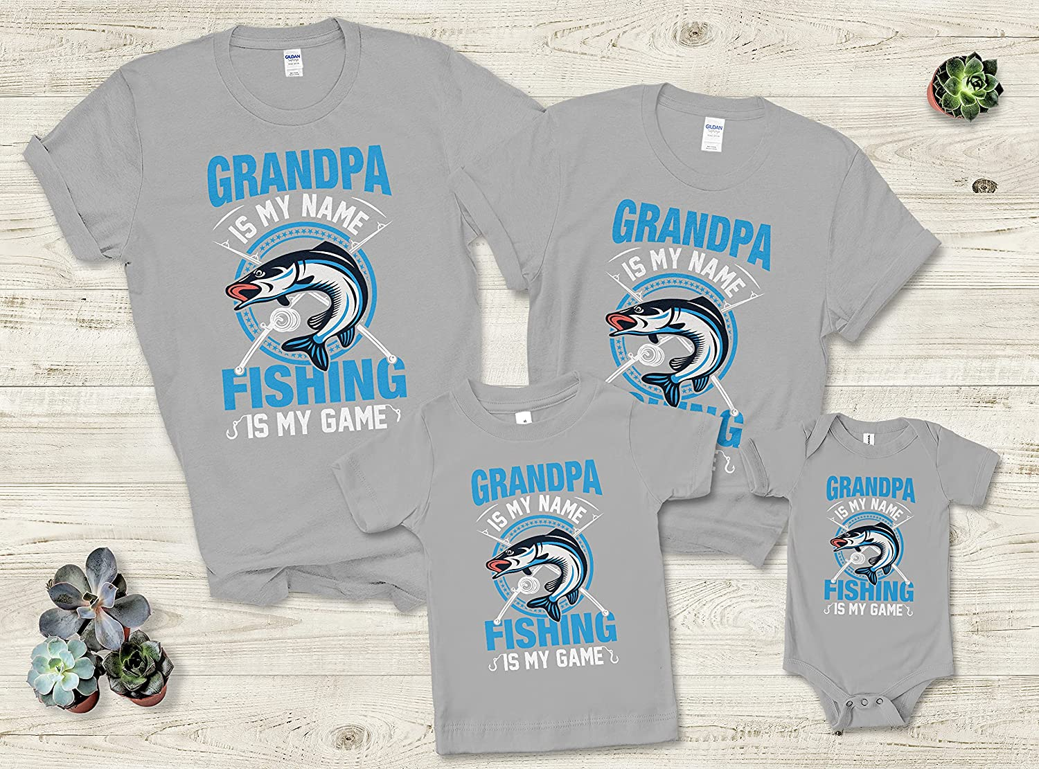 Father Mother Parents Day 2021 Grandpa Is My Name Custom Personalized Family T-Shirt Gift