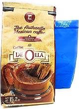 Cafe de Olla Mexican Ground Coffee and Tesadorz Resealable Bags Bundle (Original)