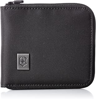 Victorinox Zip-Around Wallet, Black Logo