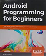 android programming for beginners book