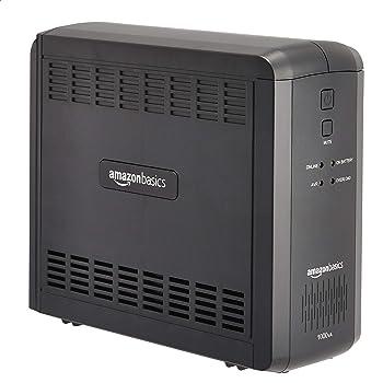 AmazonBasics Line-Interactive UPS 1000VA 550 Watt, 9 Outlets