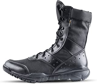 Men's LD Lightweight Combat Boots Microfiber/Suede Leather Military Tactical Boots