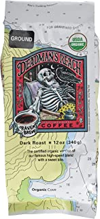 Raven's Brew Coffee - Deadman's Reach Organic Ground Coffee - 12-Oz Bag
