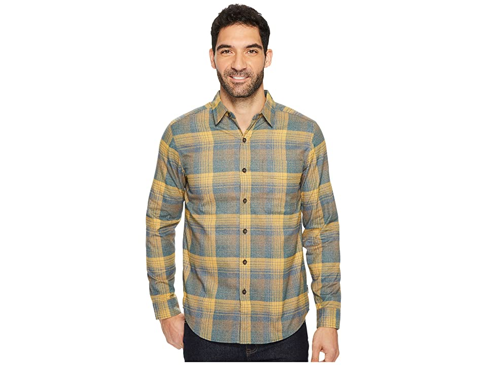 Royal Robbins Vintage Performance Flannel Plaid Long Sleeve Shirt (Earth) Men