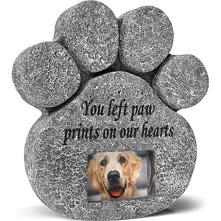 Personalized Garden Memorial 8-10 Dog Memorial Stone Bereavement Gift Pet Loss Gift Pet Headstone Pet Memorial Stone