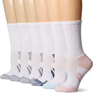 066596814 Amazon Essentials Women s 6-Pack Performance Cotton Cushioned Athletic Crew  Socks